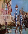 The Grand Canal, Venice - Edouard Manet