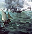 The Battle of the Kearsarge and Alabama - Edouard Manet