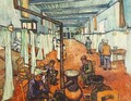 ward in the hospital in arles 1889 - Vincent Van Gogh