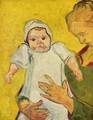 The Baby Marcelle Roulin 2 - Vincent Van Gogh
