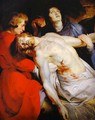 The Entombment (detail) - Peter Paul Rubens