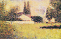House between the trees - Georges Seurat