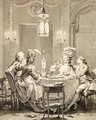The Fine Supper 1781 - Jean-Michel Moreau