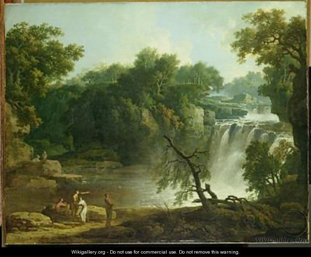 The Falls of Clyde 1771 - Jacob More