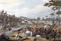 Rangoon The Storming of one of the Principal Stockades on July 8th 1824 - (after) Moore, Joseph