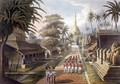 The Principal Approach to the Great Dagon Pagoda at Rangoon - (after) Moore, Joseph