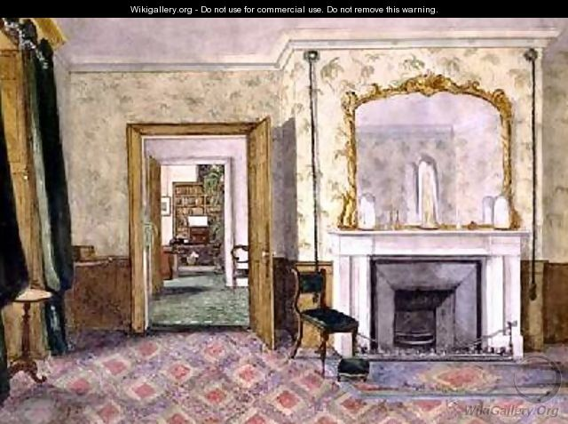 Michael Faradays flat at the Royal Institution 1850-55 - Harriet Jane Moore
