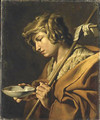 Johannes de Doper attributed to 1630-1650 - Matthias Stomer