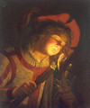 Boy with a Torch 1622 - Matthias Stomer