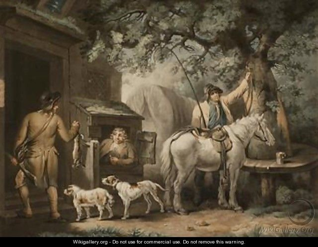 The Sportsmans Return - George Morland