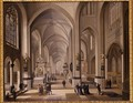 Interior of a Gothic Church 1787 - Johann Ludwig Ernst Morgenstern