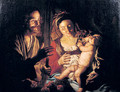 The Holy Family - Matthias Stomer