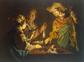 Esau and Jacob 1640-1650 - Matthias Stomer