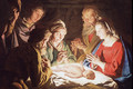 1635-40 The Adoration of the Shepherds - Matthias Stomer