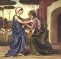 Salutation or The Visitation 1883 - Evelyn Pickering De Morgan