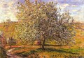 Tree in Flower near Vetheuil - Claude Oscar Monet