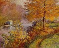 The Studio Boat 2 - Claude Oscar Monet