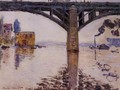 The Road Bridge at Argenteuil 2 - Claude Oscar Monet