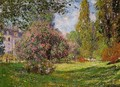 The Parc Monceau, Paris 1 - Claude Oscar Monet