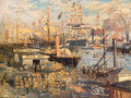 The Grand Quai At Le Havre 1874 - Claude Oscar Monet