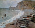 The Beach and Cliffs of Amont at Etretat 1883 - Claude Oscar Monet