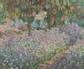 The Artist's Garden at Giverny - Claude Oscar Monet