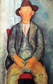 Young Farmer - Amedeo Modigliani