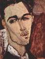 Portrait of Celso Lagar - Amedeo Modigliani