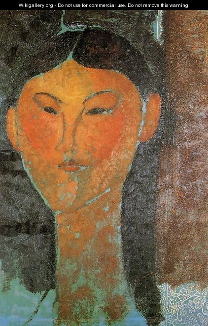 Portrait of Beatrice Hastings 3 - Amedeo Modigliani