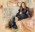 Julie Manet and Her Greyhound, Laertes - Berthe Morisot