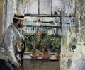 Eugene Manet (the Artist's Husband) on the Isle of Wight - Berthe Morisot