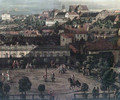 View of Warsaw from the Royal Palace (detail) - Bernardo Bellotto (Canaletto)