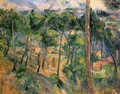 L'Estaque, view by the Kiefern - Paul Cezanne