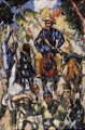Don Quixote, Seen from the Front - Paul Cezanne