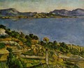 The sea at l'Estaque - Paul Cezanne
