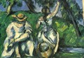 The Obstpflueckerin - Paul Cezanne