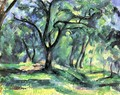 Small forest - Paul Cezanne