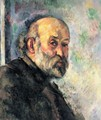 Self-portrait 1895 - Paul Cezanne