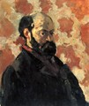 Self-portrait 1875 - Paul Cezanne