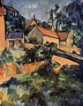 Road curve in Montgeroult - Paul Cezanne