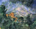 Mont Sainte-Victoire and Chateau Noir - Paul Cezanne