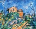 Maison Maria at the way to the Château Noir - Paul Cezanne