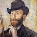 Portrait of Zacherie Zacharian - Edgar Degas