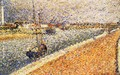 Study for 'The Channel at Gravelines' 2 - Georges Seurat