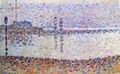 Study for 'The Channel at Gravelines' 1 - Georges Seurat