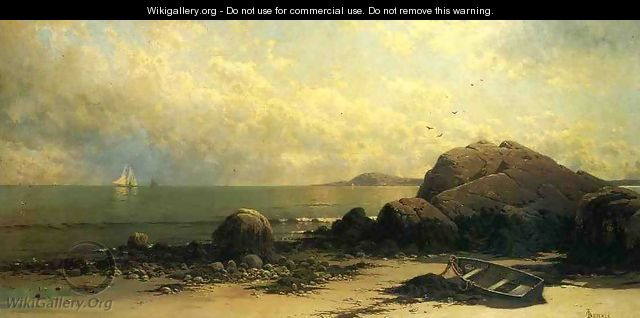 Low Tide, Southhead, Grand Manan Island 2 - Alfred Thompson Bricher