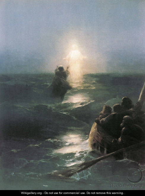 Walking on Water - Ivan Konstantinovich Aivazovsky