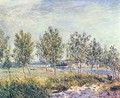Meadow in By - Alfred Sisley