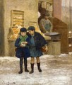 Sharing the Treats - Victor-Gabriel Gilbert