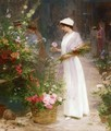 Picking Flowers - Victor-Gabriel Gilbert